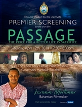 "Levy Preserve's screening of the short film ""Passage"""